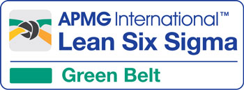 Lean Six Sigma Green Belt cours accrédité par Lean Six Sigma Academy / APMG