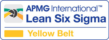 Lean Six Sigma Yellow Belt cours accrédité par Lean Six Sigma Academy / APMG