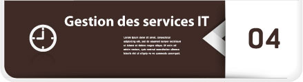 Gestion des services IT